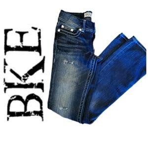 BKE | 25x33.5 Sabrina Low Rise Boot Cut Jean | EUC